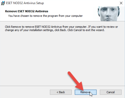 How to Completely Remove ESET NOD32 Antivirus 10 from Computer