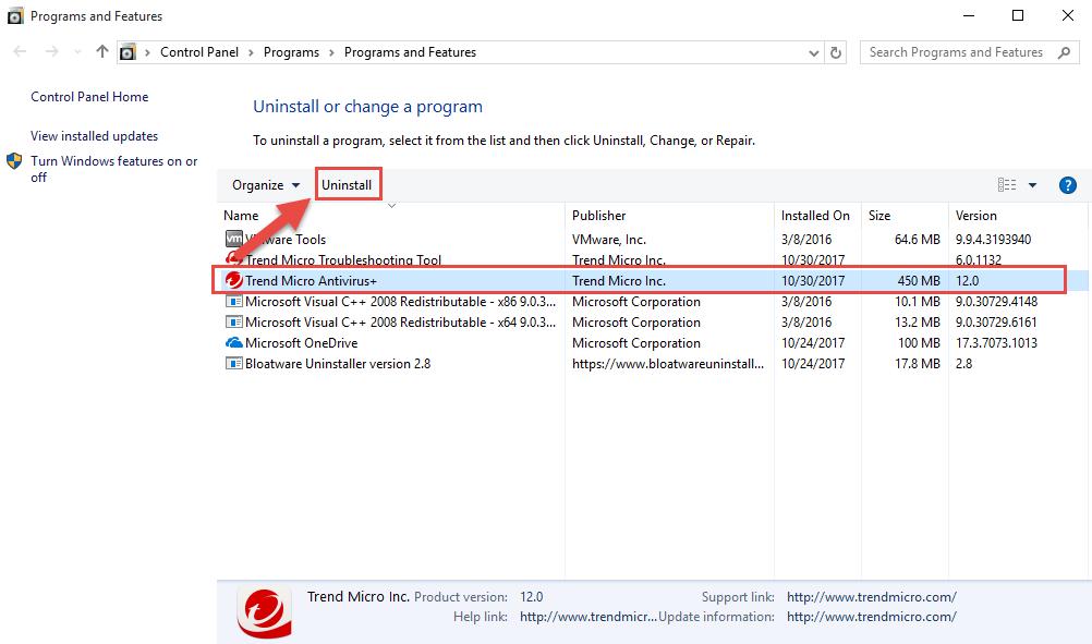 remove_TrendMicro_Antivirus_Security