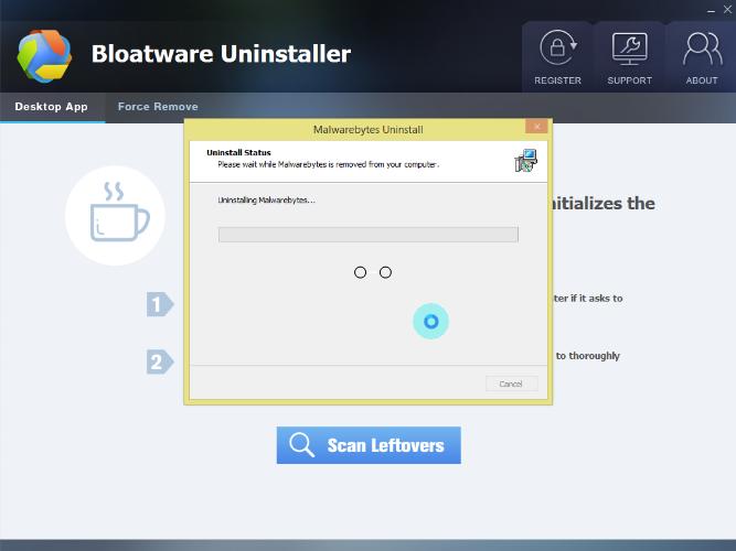Uninstall Malwarebytes Version 3 2 2 2029 —Uninstall Program