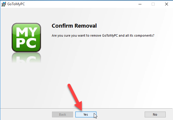 How can Remove GoToMyPC App and Its Registries