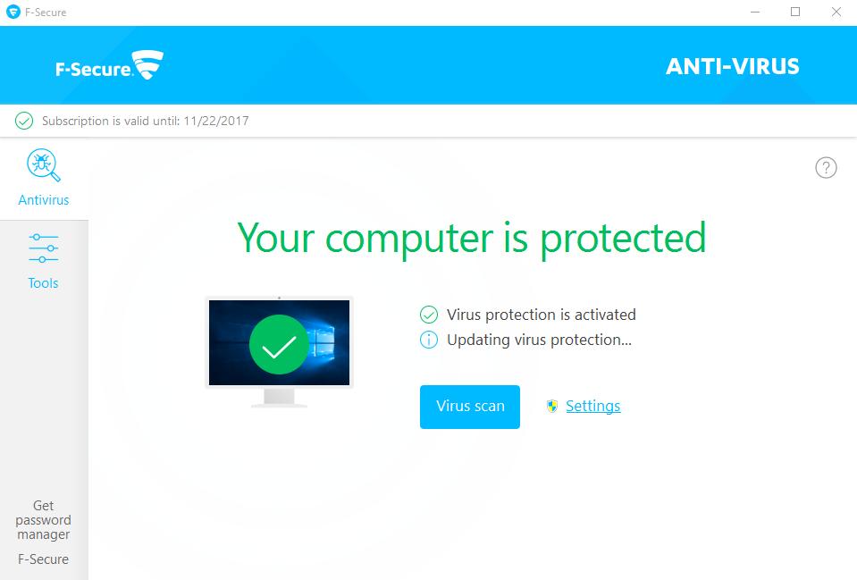 remove F-Secure Anti-Virus