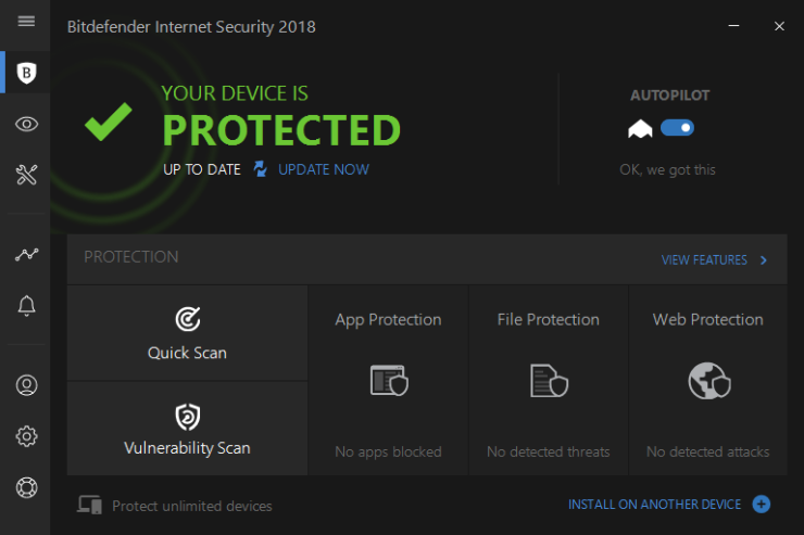 Correctly Uninstall Bitdefender Internet Security 2018