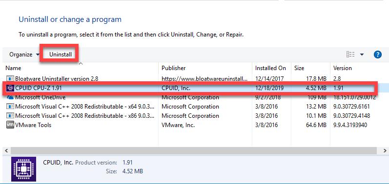 uninstall_CPU-Z-2