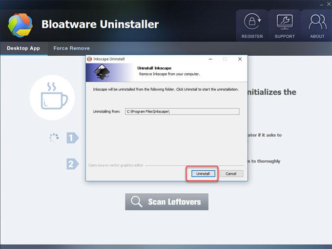 remove Inkscape