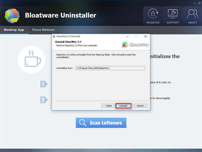 uninstall-GlassWire-2.2