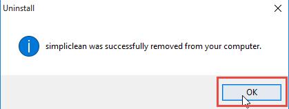 remove-simpliclean-in-windows-4