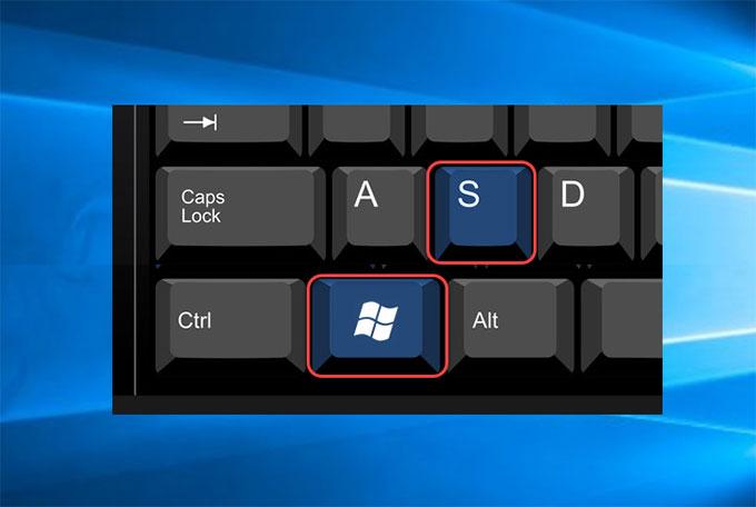 Windows & S keys